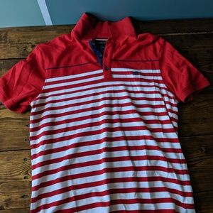 Banana Republic Striped Polo
